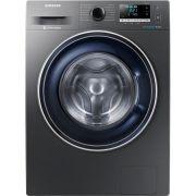 Masina de spalat rufe Samsung WW80J5446FX/LE, 8 kg, 1400 RPM, Clasa A+++, Motor Digital Inverter, EcoBubble, Inox ieftina