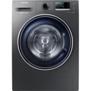 Masina de spalat rufe Samsung WW80J5446FX/LE, 8 kg, 1400 RPM, Clasa A+++, Motor Digital Inverter, EcoBubble, Inox pret ieftin