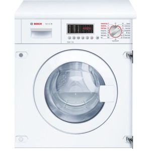 Masina de spalat rufe cu uscator incorporabila Bosch WKD28541EU, ActiveWater, 1400 RPM, 7 kg spalare/4 kg uscare, Clasa B, 60 cm, Alb pret ieftin