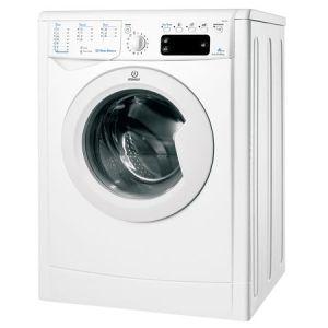 Masina de spalat rufe Indesit IWE 61051 C ECO EU, 6 kg, 1000 rpm, Clasa A+, Alb pret ieftin