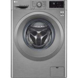 Masina de spalat rufe LG F4J5TN7S, Direct Drive, 8 kg, 1400 RPM, Clasa A+++, 60 cm, Argintiu pret ieftin