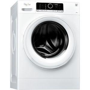 Masina de spalat rufe Whirlpool Supreme Care FSCR80412, 6th Sense, 8 kg, 1400 RPM, Clasa A+++, Alb pret ieftin