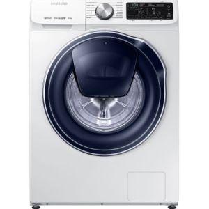 Masina de spalat rufe Samsung WW80M644OPW/LE, Quick Drive, AddWash, Eco Bubble, Motor Digital Inverter, Smart Control, 8kg, 1400 rpm, Clasa A+++, Alb pret ieftin