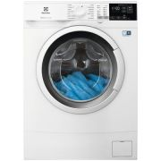 Masina de spalat rufe Slim Electrolux EW6S427W, PerfectCare600, 7 kg, 1200 RPM, Clasa A+++, 1200 rpm, LCD, Alb ieftina