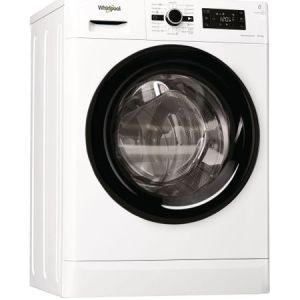 Masina de spalat rufe cu uscator Whirlpool FreshCare+ FWDG86148B EU, 1400 RPM, Spalare 8 kg, Uscare 6 kg, Clasa A, Motor SenseInverter, 6th Sense, Display digital, Alb pret ieftin