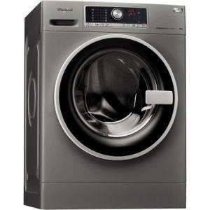 Masina de spalat rufe semi-profesionala Whirlpool Supreme Care AWG 812 S PRO, 8 kg, 1200 RPM, Eco Dose, 6 th sense, Zen Tehnology, Clasa A+++, Argintiu pret ieftin