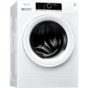 Masina de spalat rufe Whirlpool Supreme Care FSCR70414, 6th Sense, 7 kg, 1400 RPM, Clasa A+++, 60 cm, Alb pret ieftin