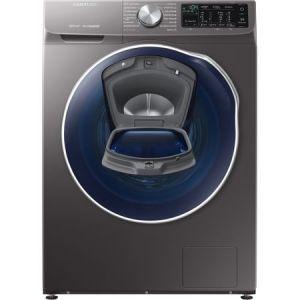 Masina de spalat rufe cu uscator Samsung WD90N642O2X/LE, 1400 RPM, 9 kg spalare / 5 kg uscare, Clasa A, QuickDrive, Eco Bubble, AddWash, Motor Digital Inverter, Air Wash, Inox pret ieftin