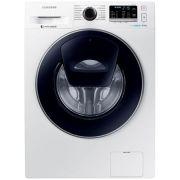 Masina de spalat rufe Samsung AddWash WW80K5410UW/LE, 8 kg, 1400 RPM, Clasa A+++, Motor Digital Inverter, EcoBubble, Alb ieftina