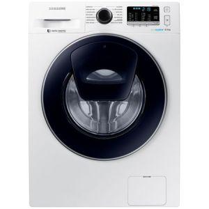 Masina de spalat rufe Samsung AddWash WW80K5410UW/LE, 8 kg, 1400 RPM, Clasa A+++, Motor Digital Inverter, EcoBubble, Alb pret ieftin