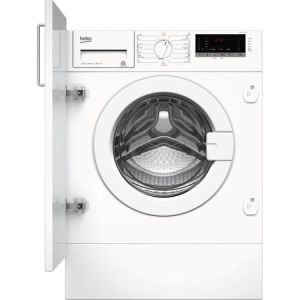 Masina de spalat rufe incorporabila Beko WITV8712X0W, 8 kg, 1400 RPM, Clasa A+++, Display LED, Alb pret ieftin
