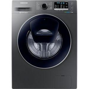 Masina de spalat rufe Samsung Add Wash WW90K5410UX/LE, 9 kg, 1400 RPM, Clasa A+++, Motor Digital Inverter, EcoBubble, Display LED, Smart Check, Inox pret ieftin