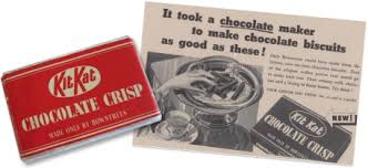 Kit Kat history - was chocolate crisp before being renamed Kit Kat