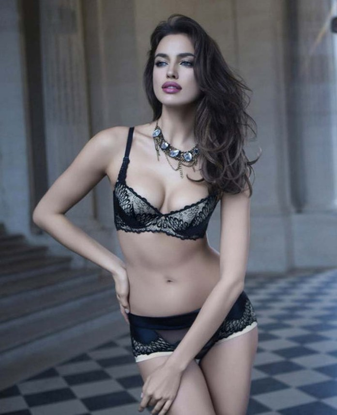 Irina Shayk Deduces La Clover Lingerie for Valentine's Day (2)