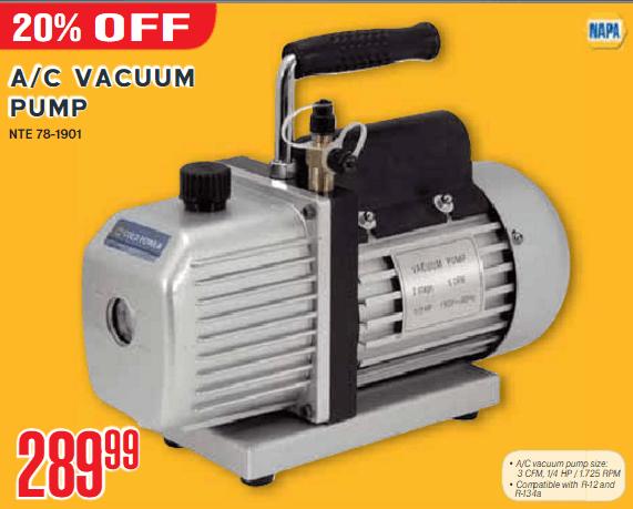 Auto Ac Vacuum Pump