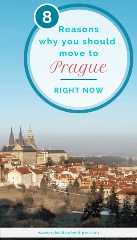 8 reasons why you will love living in Prague, Czech Republic.