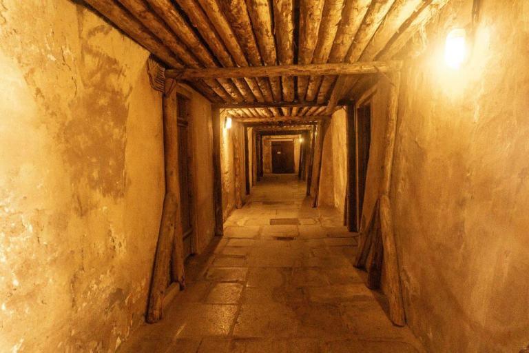 Underground in the Pilsney Urquell Museum.