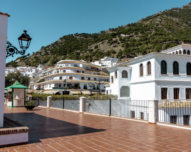 The white village near Fuengirola, Spain is a perfect day trip.