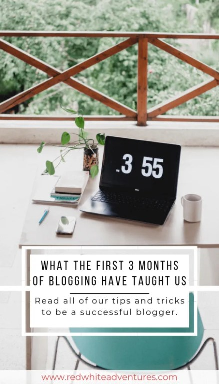Pintest pin for our blog post. What it's like to be a blogger.