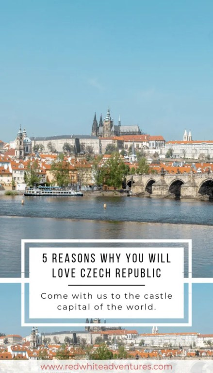 Pinterest photo of living in Prague, and why you will love living in the Czech Republic.