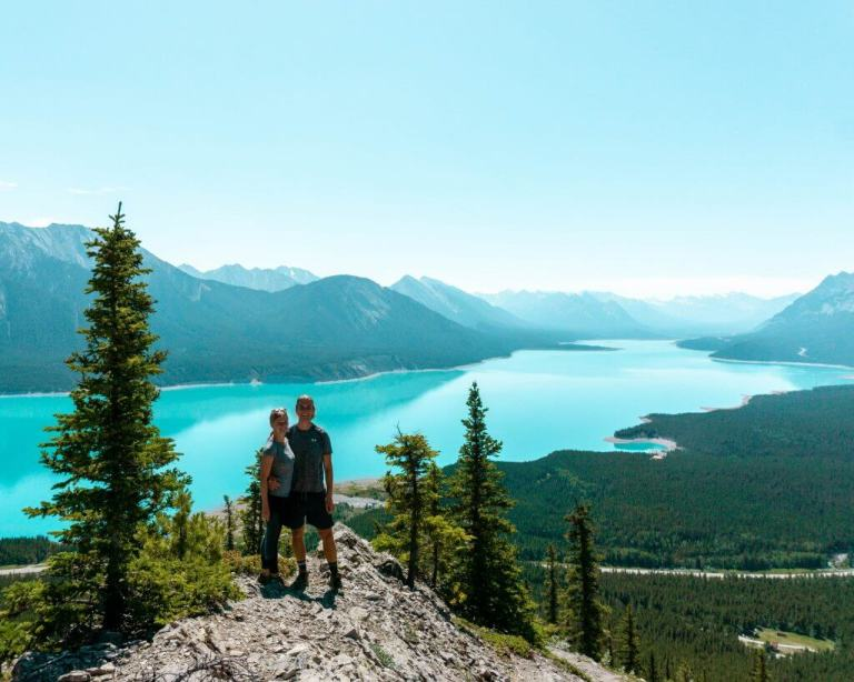 Vision Quest hike is an unreal hike near Nordegg