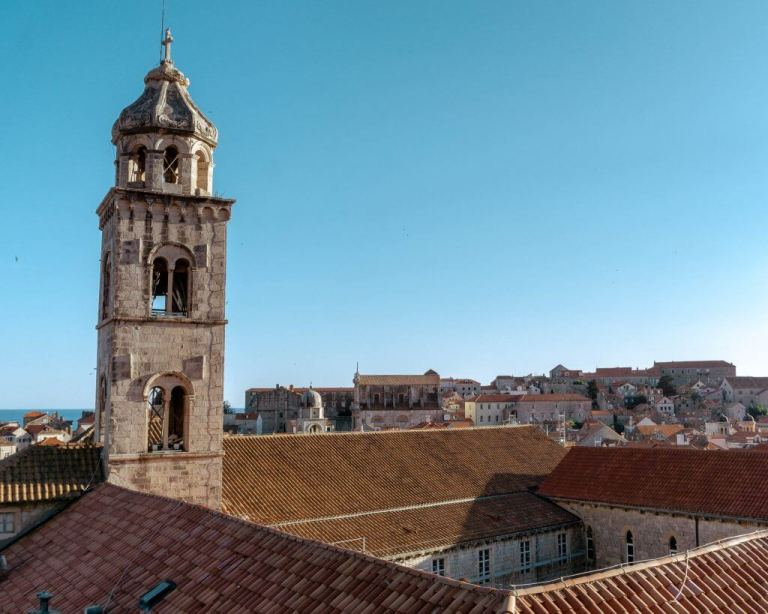Views from the wall of Old Town Dubrovnik.