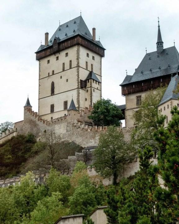 Karlstejn Castle in the Czech Republic.