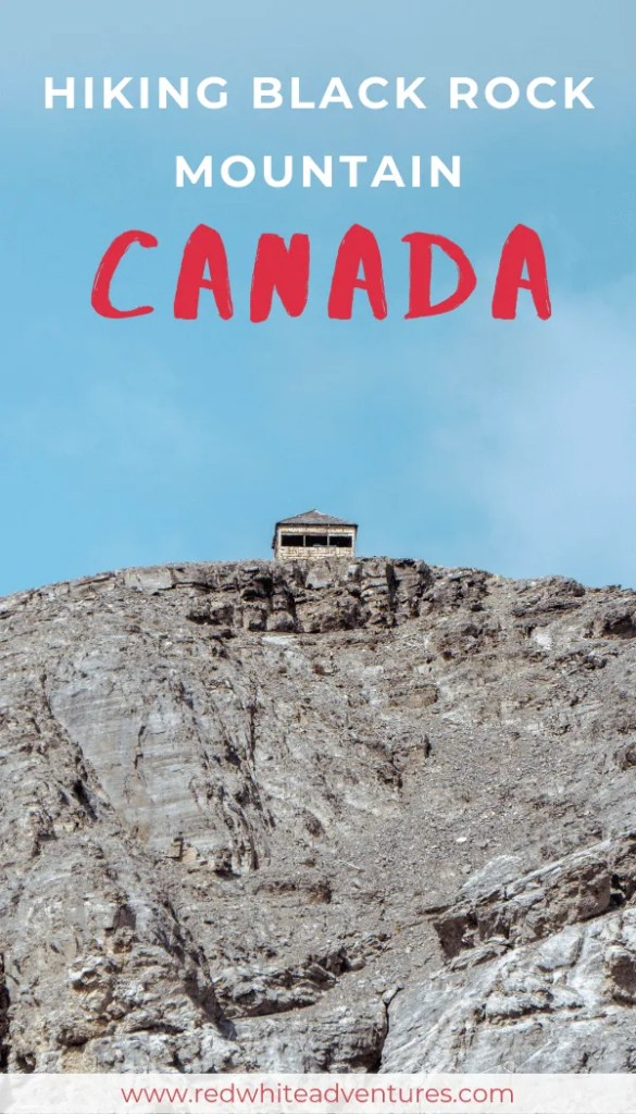 Black Rock Mountain in Alberta.