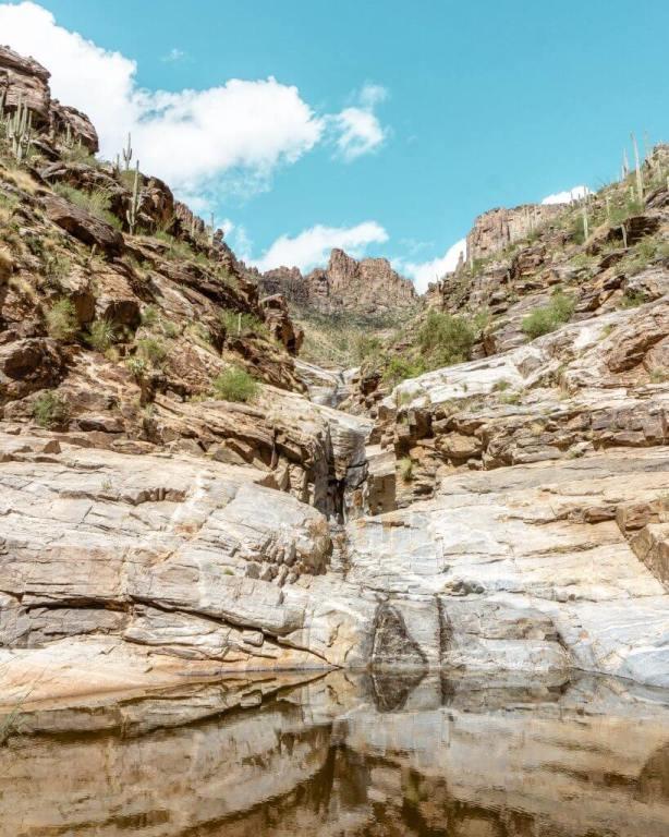 7 Falls Tucson waterfall.