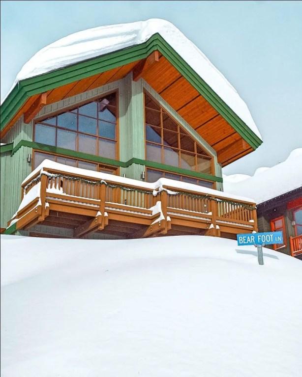 House up at Big White Ski Resort.