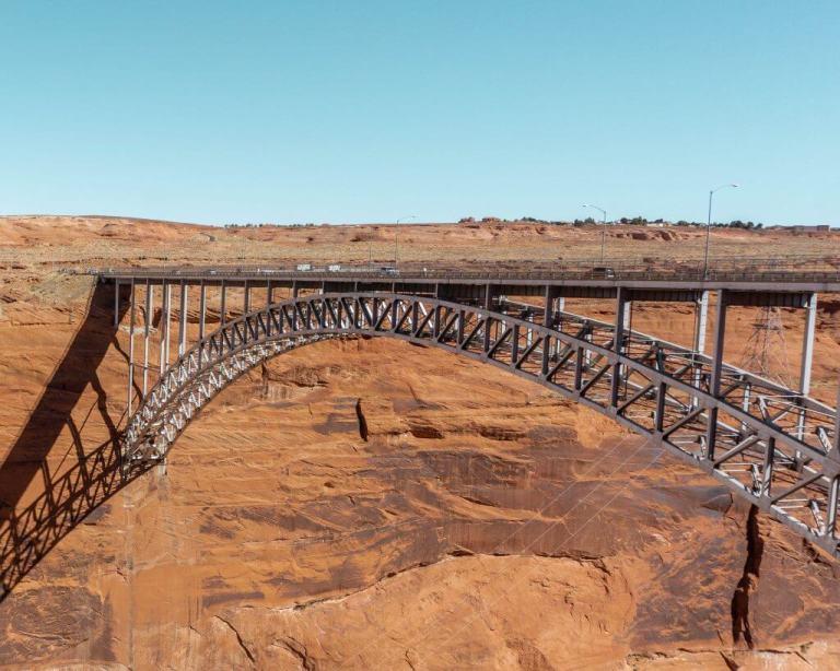 Bridge near Page, Arizona.