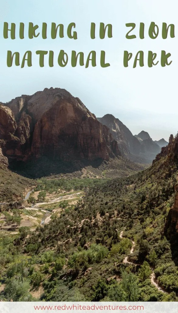 Zion National Park Pin for Pinterest