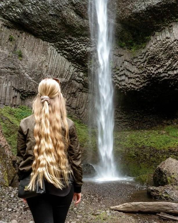 Latourell Falls near Portland, Oregon.