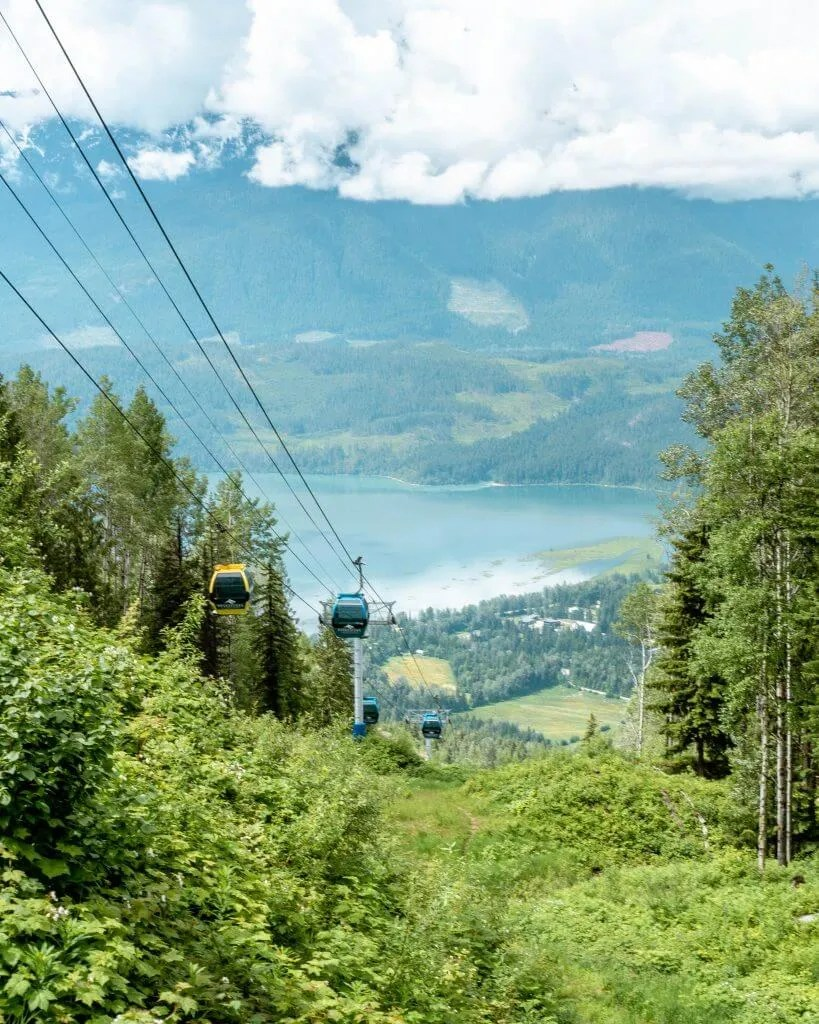 Gondola at Revelstoke Mountain Resort