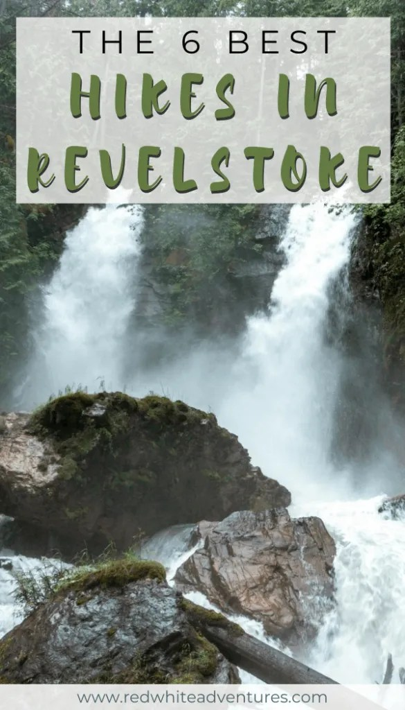 6 best hikes in Revelstoke Pin.