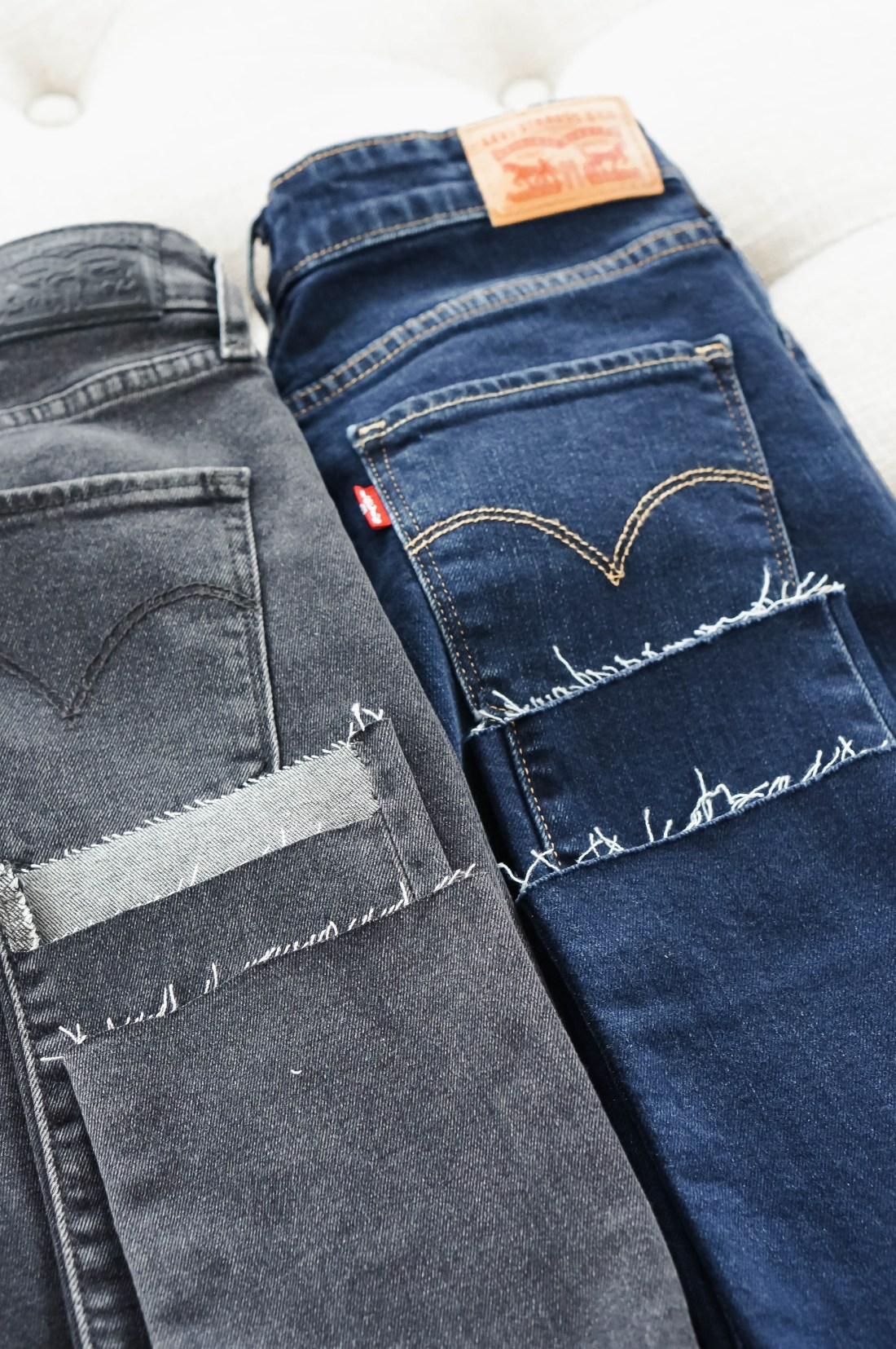 how to cut your jeans