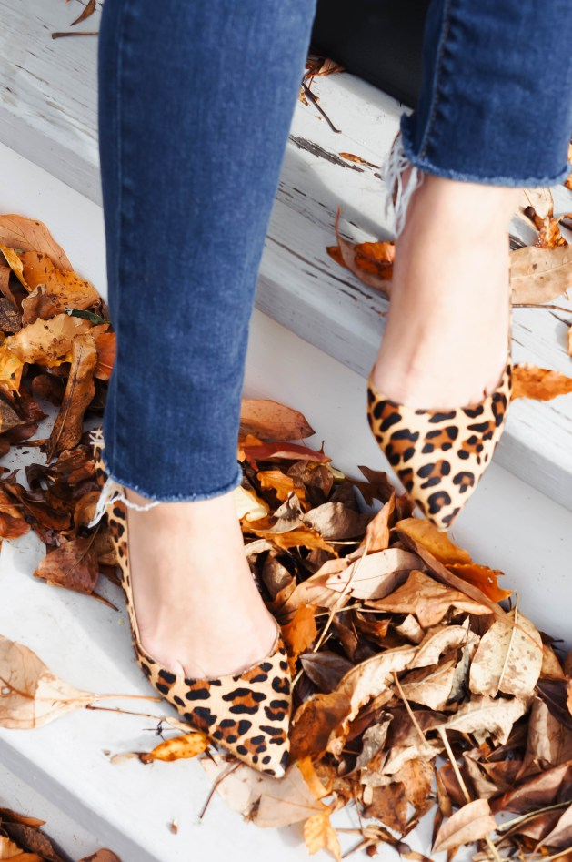 J. Crew Factory Leopard Pumps
