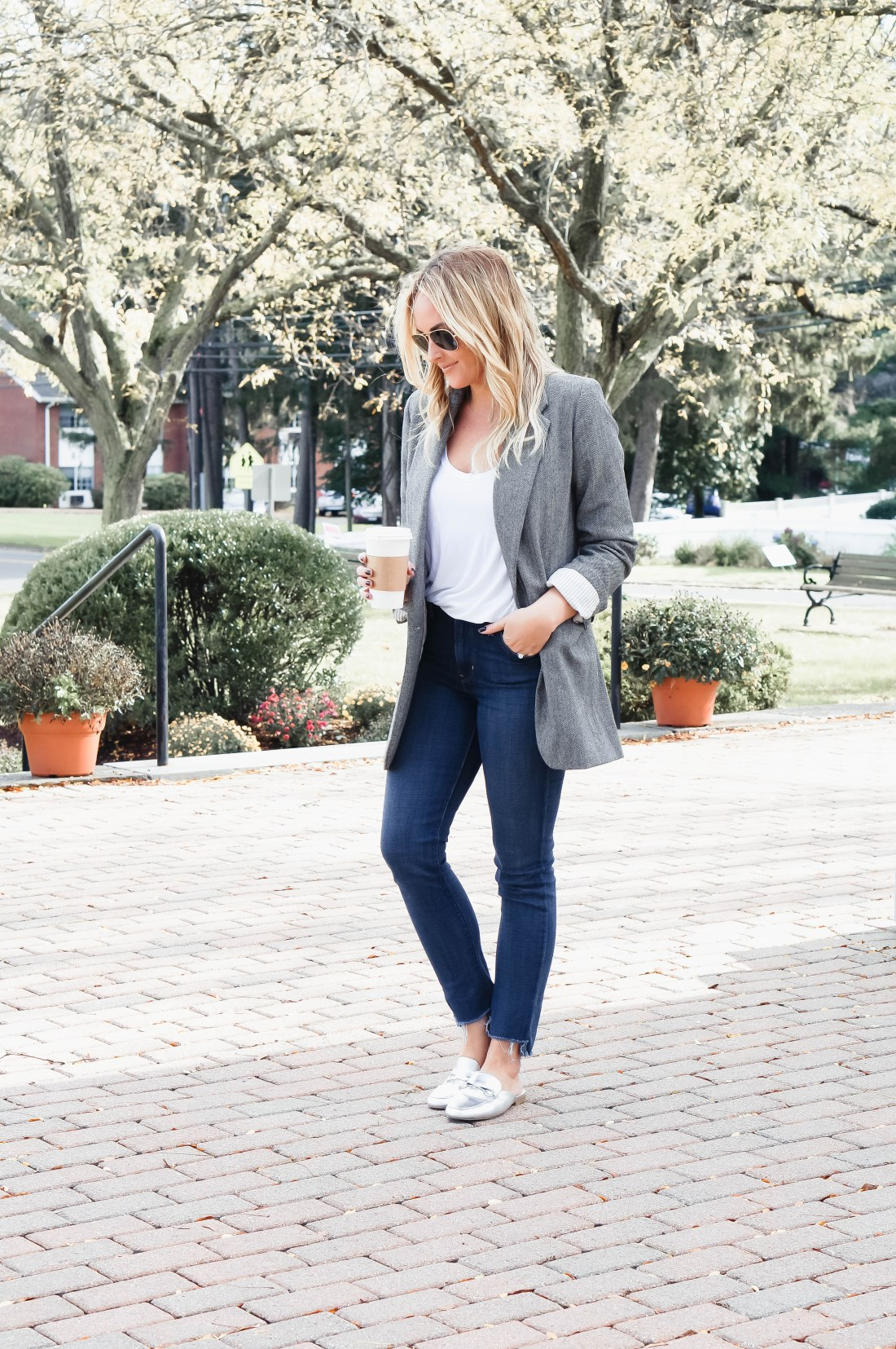 Style a blazer from day to night