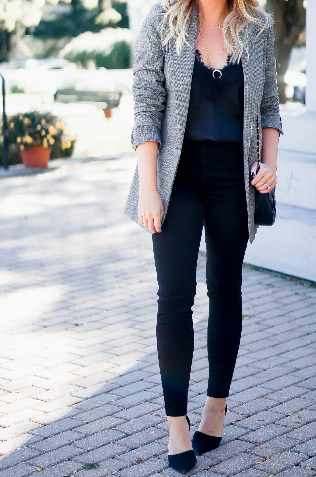 Date Night Blazer Outfit