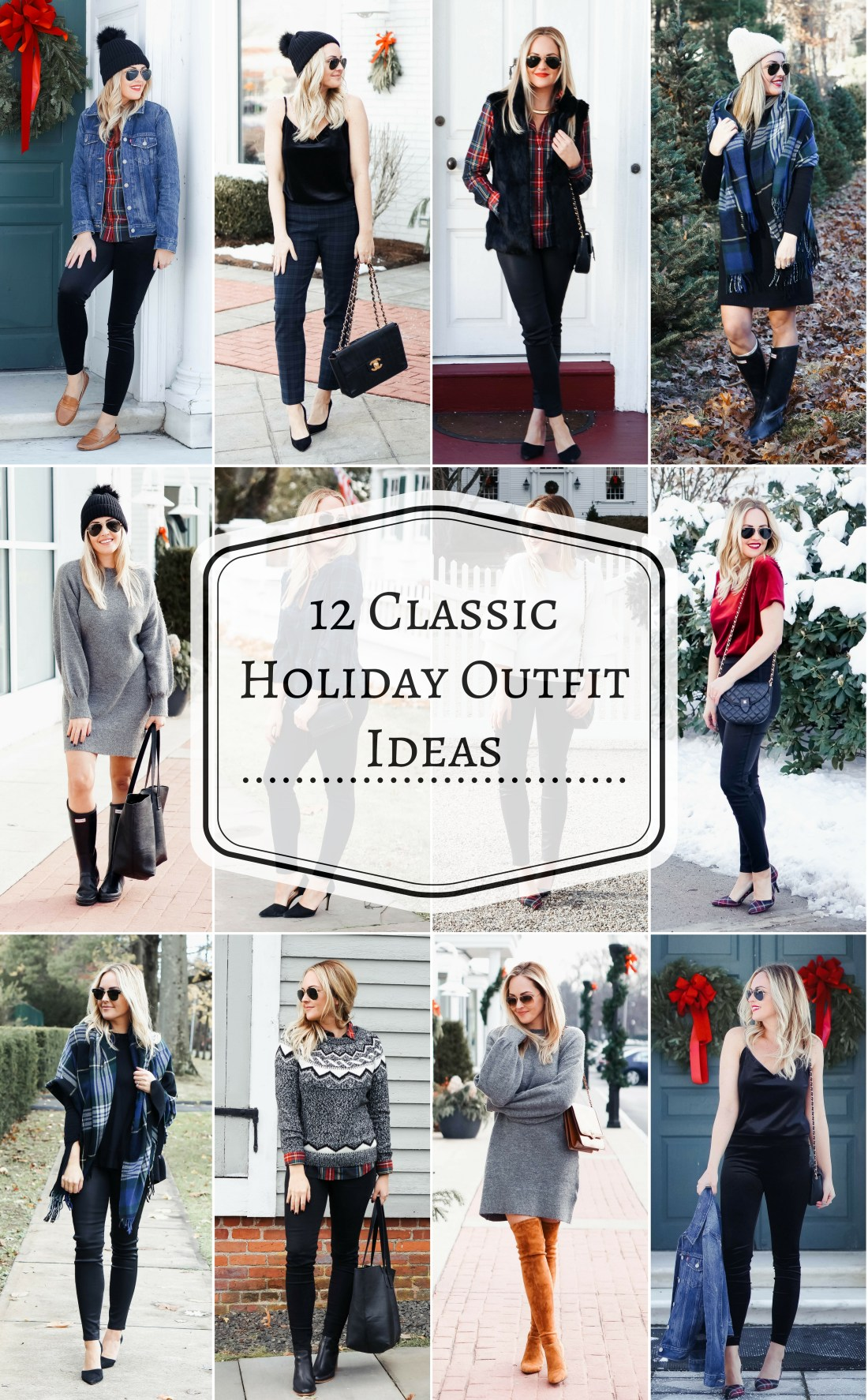 Classic Holiday Outfit Ideas