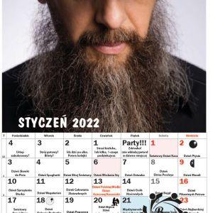 Brodaty kalendarz na 2022 rok