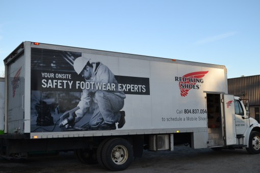 Hassle Free Safety Footwear Program | Mobile Shoe Truck | Red Wing Shoes Richmond