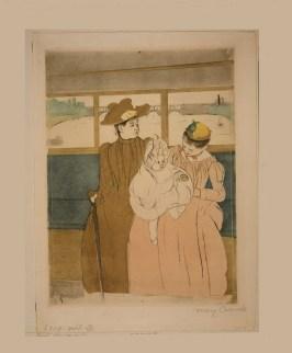 Mary Cassatt [In the omnibus, 1891]