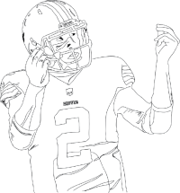 Odell Beckham Jr Coloring Sheets To Print Coloring Pages