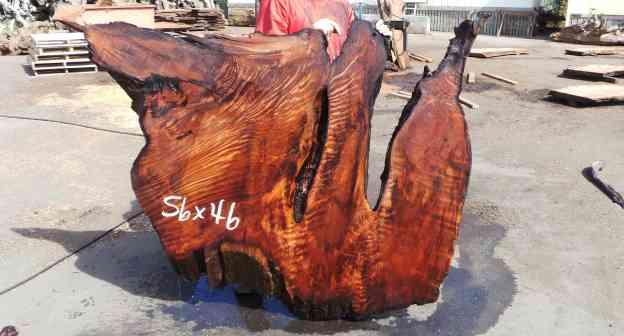 Natural Wood Bed Board - Rustic DIY Headboard Ideas