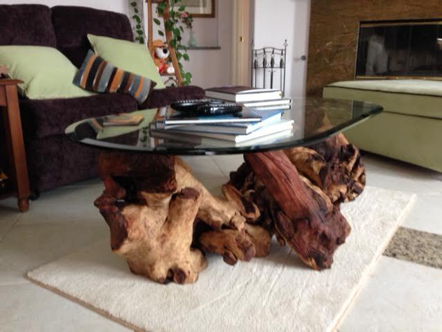 tree stump table base options d i y