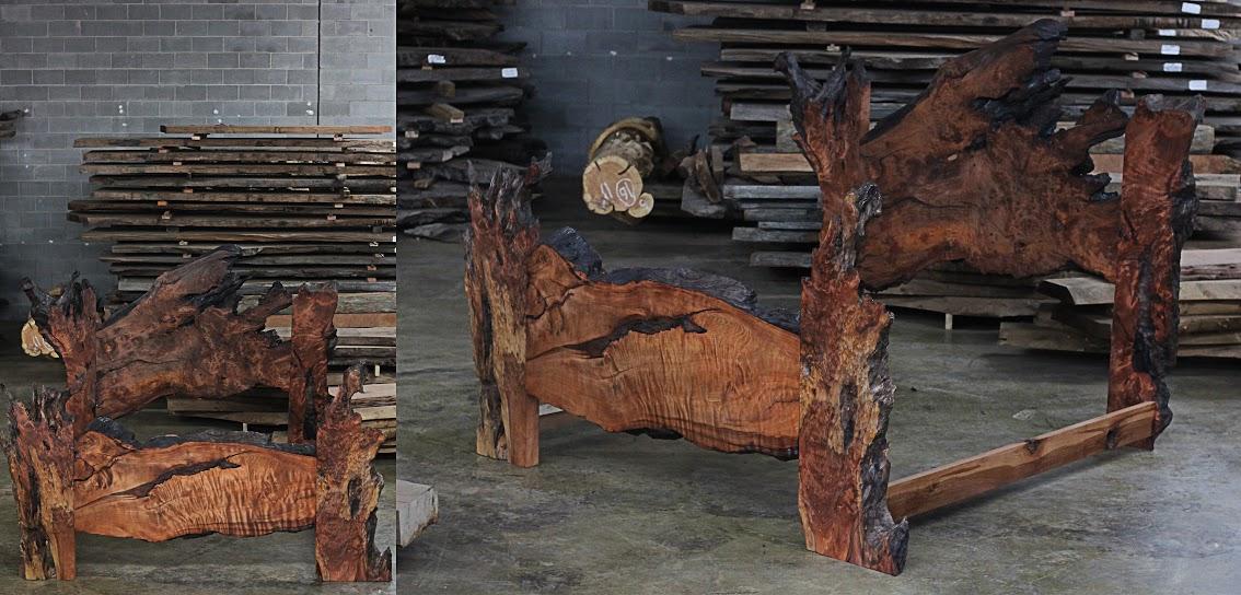 LittleBranch Farm Redwood Burl Furniture Kelly Maxwell