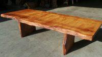 Rustic Furniture - Live Edge Wood Furniture   Redwood Burl ...