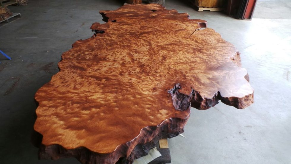 Burl Furniture - Redwood Burl Dining Table