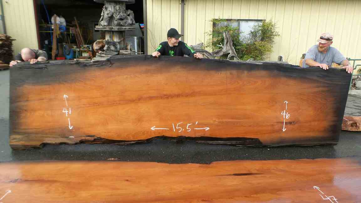 Burl Wood Rustic Conference Room Tables